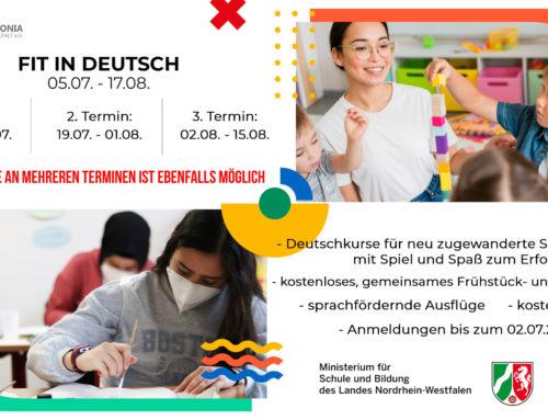 Fit in Deutsch Sommer 2021